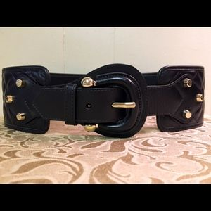 Burberry Prorsum Quilted Leather Corset Belt M